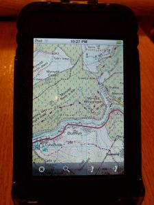 OS 1:50K maps on your iPod Touch