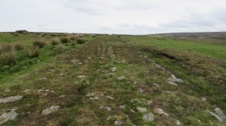 The Roman road atop Wheeldale moor